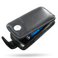 Springhk holster leather case for Sony Ericsson Vivaz U8i - black