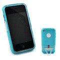 Capdase Silicone Cases Covers for iPhone 3G/3GS - blue