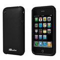 iGenius Silicone Cases Covers for iPhone 3G/3GS - black