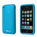 iGenius Silicone Cases Covers for iPhone 3G/3GS - blue