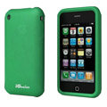 iGenius Silicone Cases Covers for iPhone 3G/3GS - green