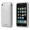 iGenius Silicone Cases Covers for iPhone 3G/3GS - white