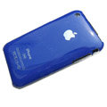 Ultrathin hard back cases covers for iPhone 3G/3GS - Deep Blue