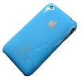 Ultrathin hard back cases covers for iPhone 3G/3GS - blue