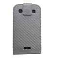 Holster leather case for Blackberry Bold Touch 9900 - gray