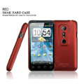 IMAK Ultra-thin matte color cases covers for HTC EVO 3D - Red