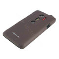 NILLKIN matte Skin cases covers for HTC EVO 3D - Brown