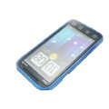 NILLKIN matte silicone case for HTC EVO 3D - Blue