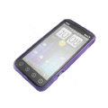 NILLKIN matte silicone case for HTC EVO 3D - Purple