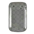 TPU silicone cases covers for Blackberry Bold Touch 9900 - black