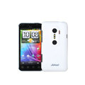 Jekod matte Skin cases covers for HTC EVO 3D - White