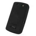 PDair silicone cases covers for BlackBerry 9530 - black
