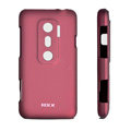 ROCK matte Skin cases covers for HTC EVO 3D - Red
