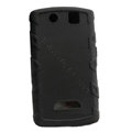 TPU silicone cases covers for BlackBerry 9530 - black