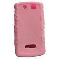 TPU silicone cases covers for BlackBerry 9530 - pink