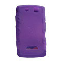 TPU silicone cases covers for BlackBerry 9530 - purple