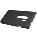100% Brand matte Skin cases covers for HTC EVO 3D - Black