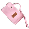 Holster leather case Sets for Blackberry Storm 9530 - Pink