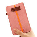 Holster leather case for Blackberry Storm 9530 - Pink