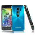 i-smartsim metal hard case for HTC EVO 3D - Blue