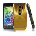 i-smartsim metal hard case for HTC EVO 3D - Gold