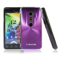 i-smartsim metal hard case for HTC EVO 3D - Purple