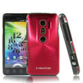 i-smartsim metal hard case for HTC EVO 3D - Red