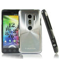 i-smartsim metal hard case for HTC EVO 3D - Silver