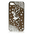 Angel bling crystal case covers for iPhone 4G