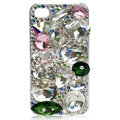 Bling S-warovski Big Rhinestone crystal case covers for iPhone 4G