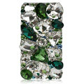 Bling S-warovski Big Rhinestone crystal case for iPhone 4G