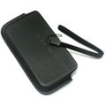 100% Genuine Holster leather Cases Cover For Nokia E6 E5 E71 E72I - Black