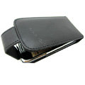 100% Genuine Holster leather Cases Cover For Nokia E72 E72I - Black