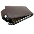 100% Genuine Holster leather Cases Cover For Nokia E72 E72I - Brown