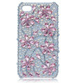 S-warovski Bling Flower crystal cases skin for iPhone 4G