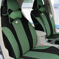 Double color Series Auto Car Seat Covers Cushion - Green