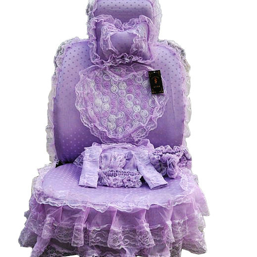 Buy Wholesale Bud Silk Lace Satins Car Seat Covers Sets