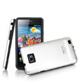 IMAK Slim Metal Silicone Cases Covers for Samsung i9100 GALAXY SII S2 - Silver
