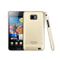 IMAK Ultra-thin Scrub color cases covers for Samsung i9100 GALAXY SII S2 - Gold