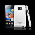 IMAK Ultra-thin Scrub color cases covers for Samsung i9100 GALAXY SII S2 - Silver