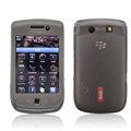 IMAK Slim Scrub Silicone hard cases Covers for Blackberry Touch 9800 - Black