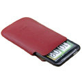 Imak Holster Leather sets Cases Covers for HTC Chacha A810e G16 - Red