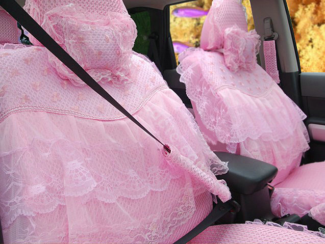 Buy Wholesale Car Seat Covers Bud Silk Lace