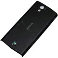 Original battery back cases covers for Sony Ericsson Xperia ray ST18i - Black