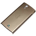 Original battery back cases covers for Sony Ericsson Xperia ray ST18i - Gold
