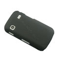 Slim Scrub Silicone hard cases Covers for Samsung i569 S5660 Galaxy Gio - Black