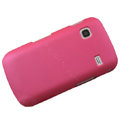 Slim Scrub Silicone hard cases Covers for Samsung i569 S5660 Galaxy Gio - Pink