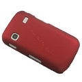 Slim Scrub Silicone hard cases Covers for Samsung i569 S5660 Galaxy Gio - Red
