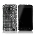 Dreamplus Bling Crystals Cases Covers For Samsung i9100 GALAXY SII S2 - Black