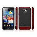 SGP Scrub Silicone Cases Covers For Samsung i9100 GALAXY S2 SII - Red